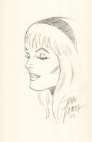 John Romita Sr - Gwen Stacy Comic Art