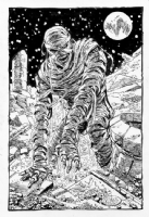 Living Mummy Comic Art