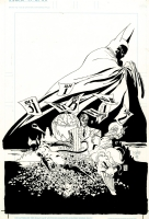 Batman : The Long Halloween trade cover - Tim Sale‏ Comic Art