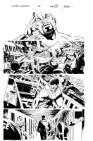 Captain America N� 25 Pag.29 (Ed Brubaker & Steve Epting) Comic Art
