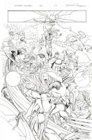 Ultimate Mistery #04 Pag 12 (Brian Michael Bendis / Rafa Sandoval / Roger Bonet) Comic Art