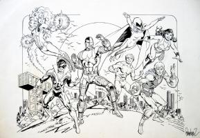 Jose Luis Garcia-Lopez - NEW TEEN TITANS Comic Art