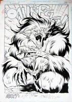 Timber Wolf #4 pg. 22 Comic Art