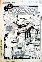 The FURY of FIRESTORM #42  Comic Art