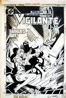 VIGILANTE #17 Comic Art