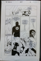 The Legion #13 p 10 of 22 Comic Art