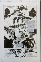 The Legion #13 p 11 of 22 Comic Art