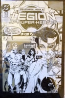 Legion of Super-Heroes v3 #42 Cover Comic Art