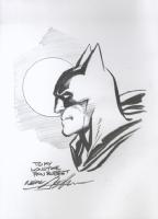 Batman Drawing done in Art of Neal Adams Comic Art