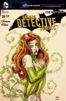 Poison Ivy, Comic Art
