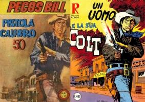 PECOS BILL - RODEO, Comic Art