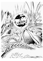 BRICK  BRADFORD  (Bat Star) SOGGIORNO a RELAXA, Comic Art