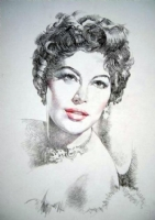 AVA GARDNER, Comic Art