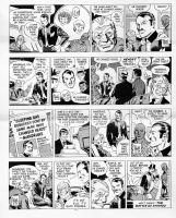 MANDRAKE daily strips, Comic Art