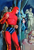 THE PHANTOM -Le Anime di Pietra Comic Art
