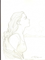 Terry Moore's Katchoo Comic Art