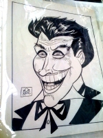 Bob Kane's Joker Comic Art