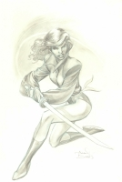 Alan Davis' Kitty Pryde (Shadowcat) Comic Art