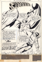 Adventure Comics 384 Splash -  Win Mortimer, Comic Art