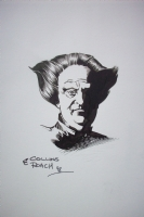 Babylon 5 - Londo Mollari Sketch by Mike Collins & David Roach Comic Art