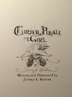Jeremy Bastian - Cursed Pirate Girl - convention sketch, Comic Art