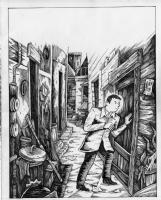 Richard Sala - Forgotten - p21, Comic Art