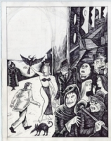 Richard Sala - Forgotten - p08, Comic Art