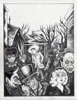 Richard Sala - Forgotten - p20, Comic Art