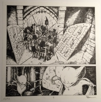 Petersen David - Mouse Guard Fall 1152 Issue 6 Page 4, Comic Art