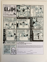 Chris Ware - Adventures of the G.I. Jim Action Club, Comic Art