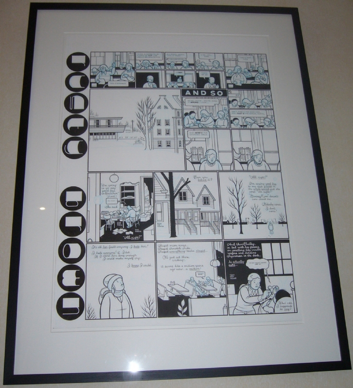 Chris Ware - Rusty Brown Comic Art