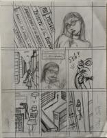 Richard Sala - Mad Night p009 preliminary art, Comic Art