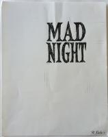 Richard Sala - Mad Night - book title logo, Comic Art