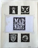 Richard Sala - Mad Night - title page, Comic Art