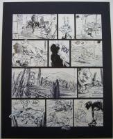 Conrad - Les innomables - Aventure en jaune - p50, Comic Art