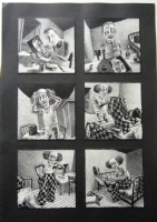 Thomas Ott - The Clown p2, Comic Art