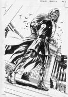 Cap Reborn Bryan Hitch Doctor Doom Splash Page Comic Art