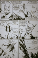 JLA#36 pg2 -Tom Artis Comic Art