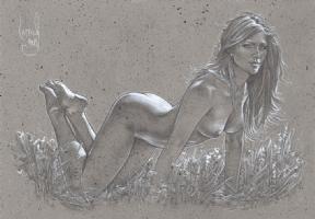 Allure - Nude Drawing Comic Art