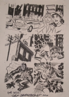 Lobster Johnson Test Page Comic Art