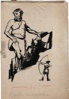 Attilio Mussino - Il pastore coraggioso Comic Art