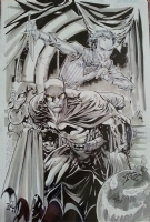 Batman vs Joker - Ken Lashley Comic Art