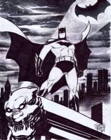 Batman - Joseph Mackie Comic Art
