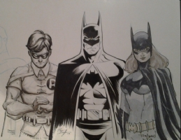 The Legends of Batman Jam P3 Comic Art