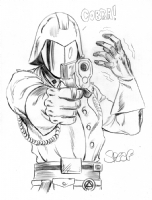 COBRA COMMANDER Comic Art