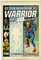 Warrior #2 Cover (1st Miracleman) Comic Art