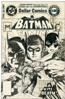 Batman Family #19 - Cover, Comic Art