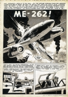ME-262! - Splash page, Comic Art