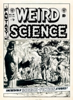 Weird Science # 14 - Cover, Comic Art