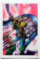 JUDGE ANDERSON by JASON BRASHILL Comic Art